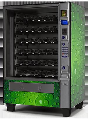 Coin Vending Machine Illustration